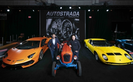 Autostrada Magazine during Media Day at the 2020 Canadian International AutoShow in Toronto, Ontario.