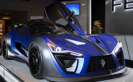 Felino during Media Day at the 2020 Canadian International AutoShow in Toronto, Ontario.